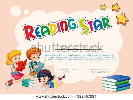 Back School Kidseducation Concept Template Kids Stock Vector ...