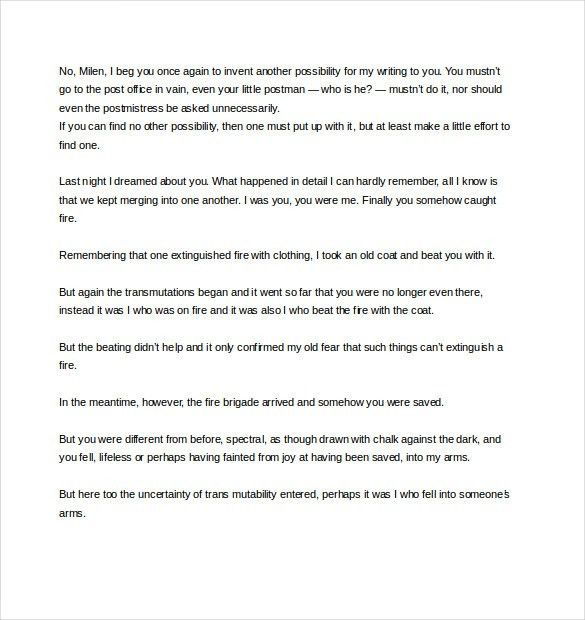 12+ Famous Love Letter Templates – Free Sample, Example, Format ...