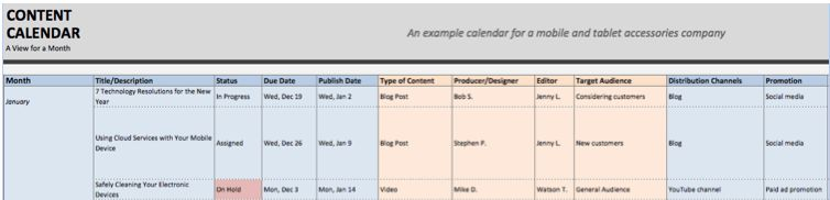 Editorial Calendar Templates for Content Marketing: The Ultimate List