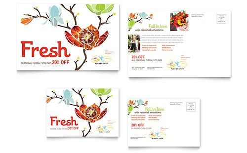 Wedding & Event Planning - Postcard Templates - Word & Publisher