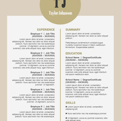 Web Search | Creative Resume Template | Resume 10 | Creative ...