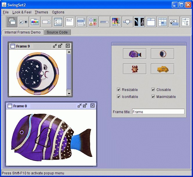How to Set the Look and Feel (The Java™ Tutorials > Creating a GUI ...