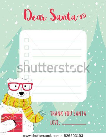 Santa List Stock Images, Royalty-Free Images & Vectors | Shutterstock