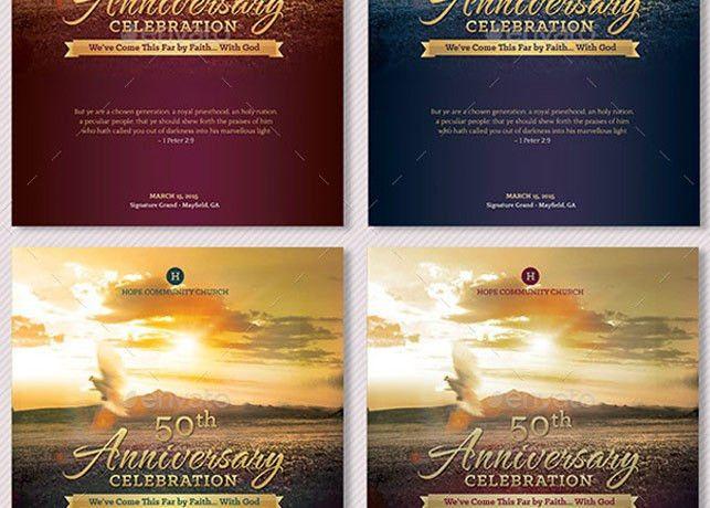 Church Anniversary Program Large | Godserv Market