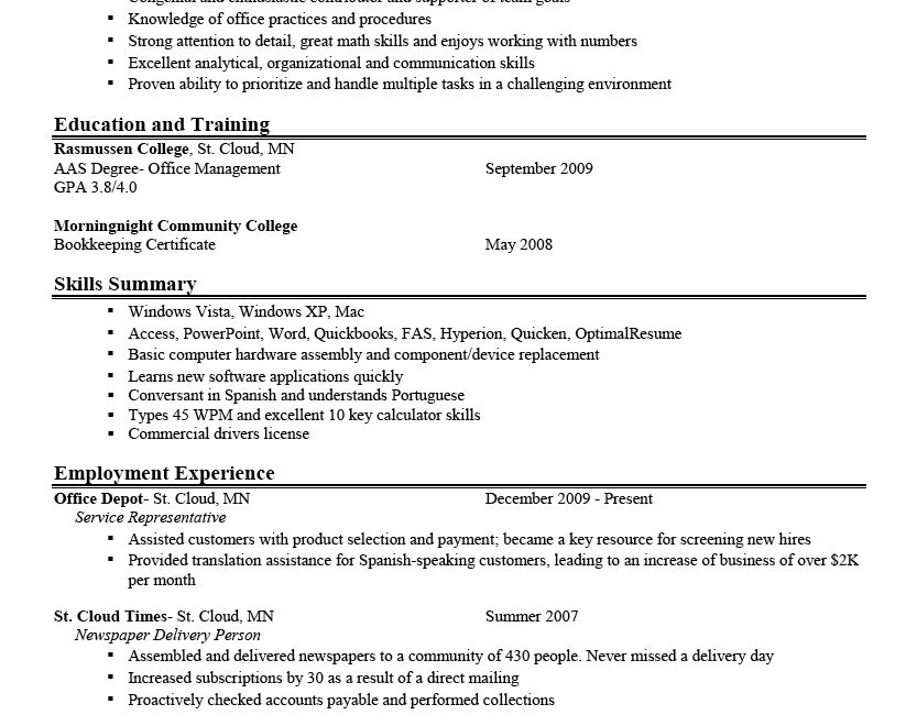 7 free resume templates. resume format resume cv. most common ...