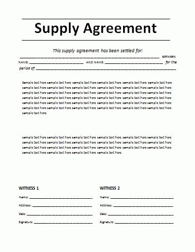 7+ agreement templateReport Template Document | report template