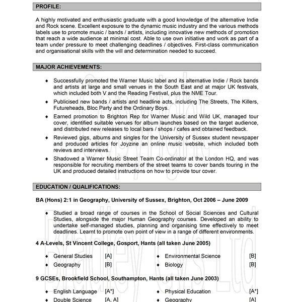 Examples Of Good Resumes [Srpa.co ]