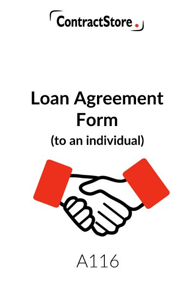 Agreement Form Template (to an individual)
