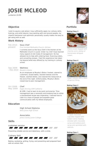 chef cv example doc 588718 assistant pastry chef cv sample com cv ...