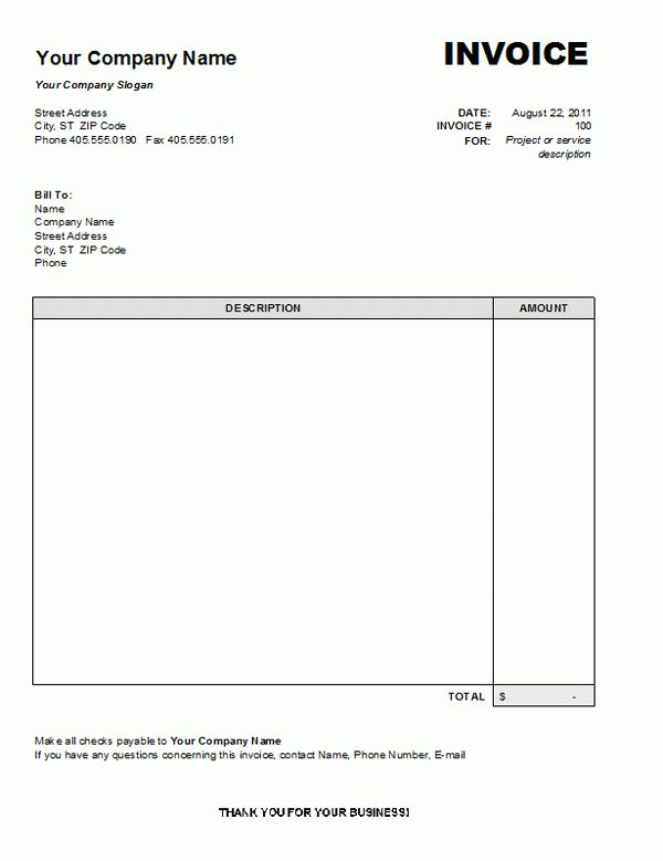 basic invoice template word - thegreyhound