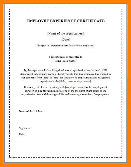 8+ working employee certificate   target cashier