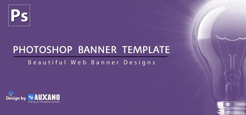 Web Design Banners in PSD | Photoshop Banner | Website Banner ...