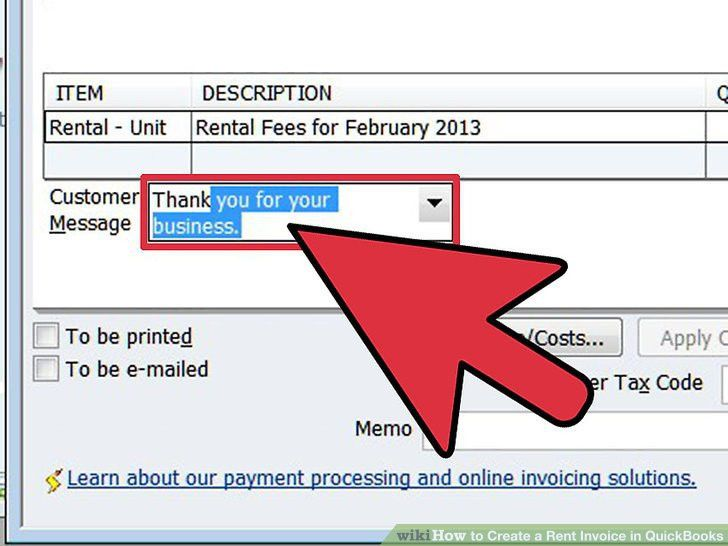 How to Create a Rent Invoice in QuickBooks: 10 Steps