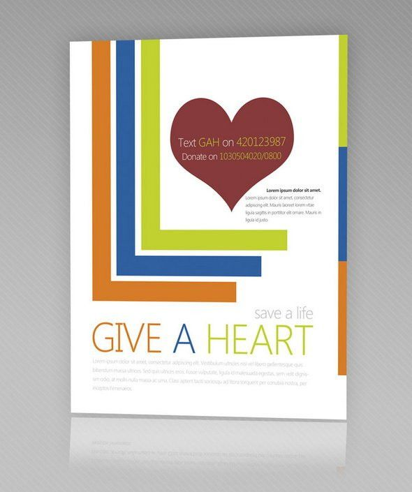 7 FREE Flyer Templates for Non Profit Organizations | 4OVER4.COM