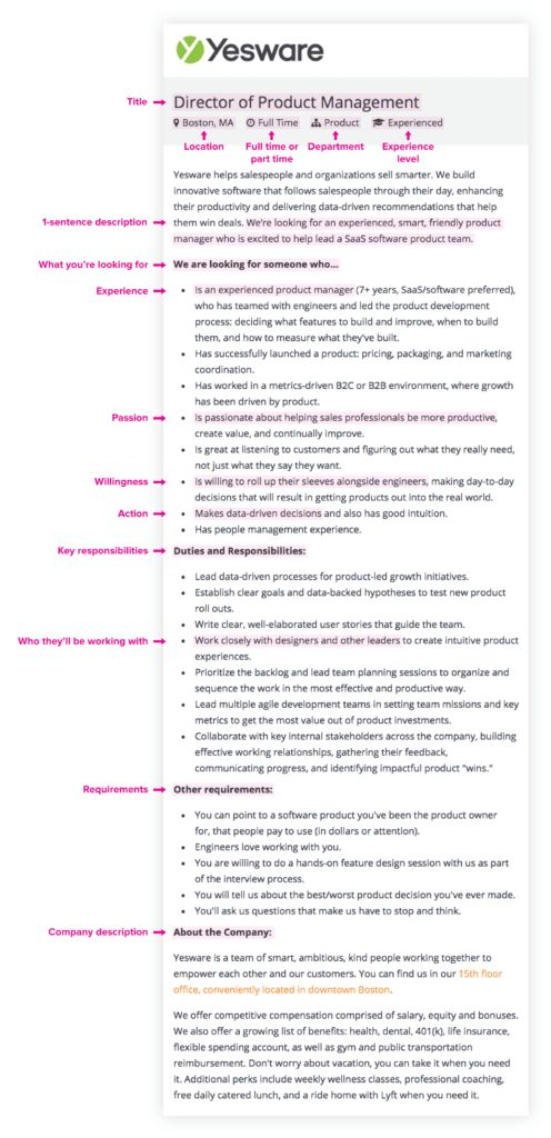 This Free Job Description Template Is Fast (And Attracts More ...