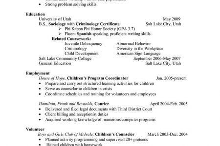 school counselor resume examples Template Template, Elementary ...