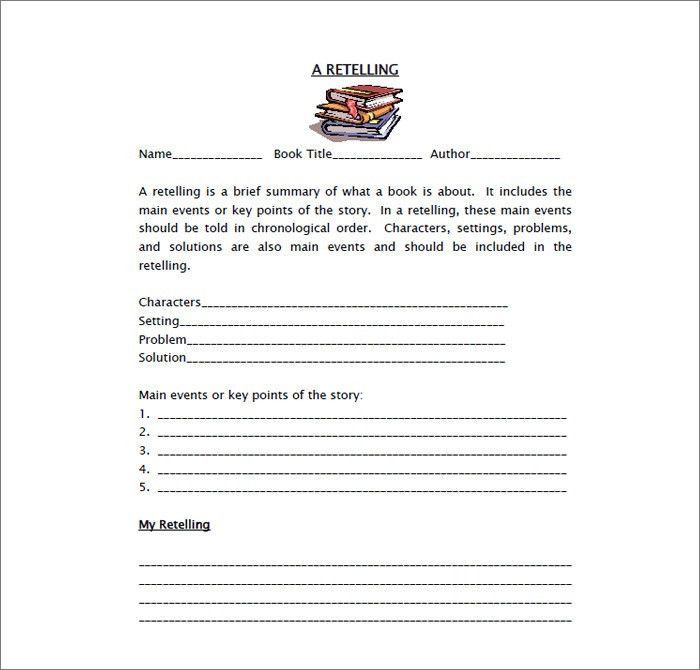 10+ Book Report Templates - Free Sample, Example, Format Download ...