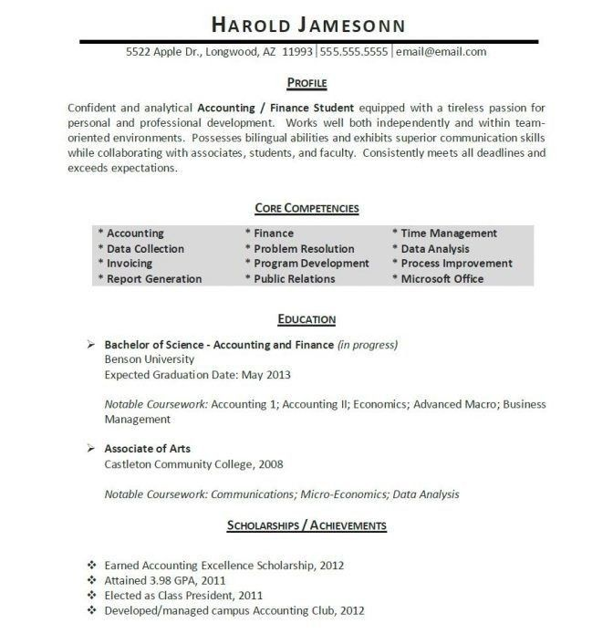 Sample Law Student Resume, 14 best legal resume images on ...