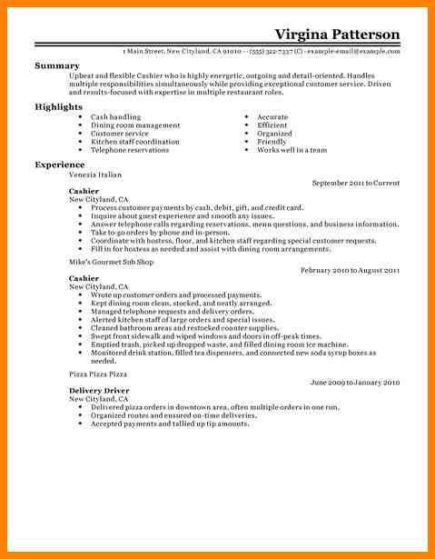 fast food cook resumes. chili hostess sample resume utility ...