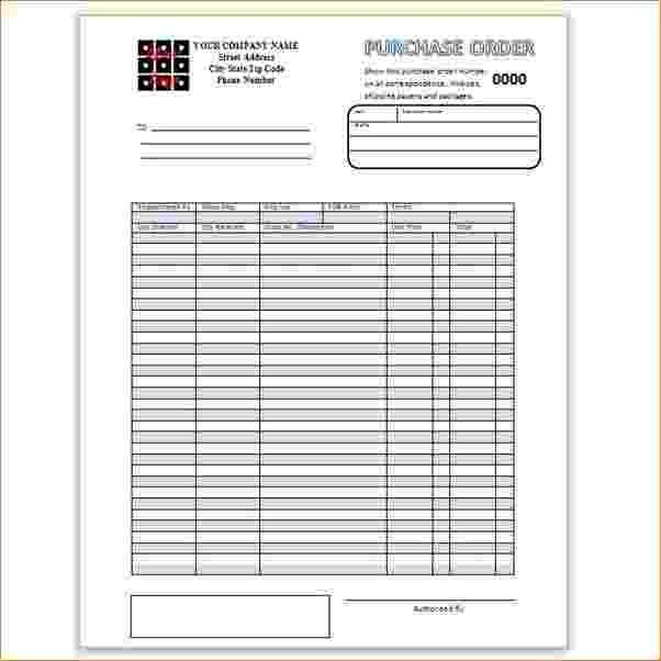 7+ Order Form Template Word | Timeline Template