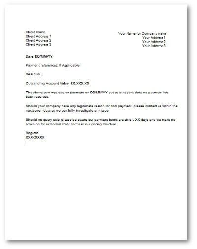 Best Photos of Non-Payment Of Invoices Sample Demand Letter ...