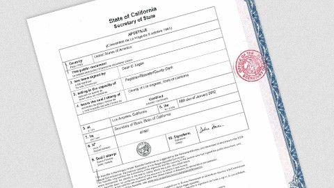 The 6 Steps of Our Apostille Process | California Apostille Agents