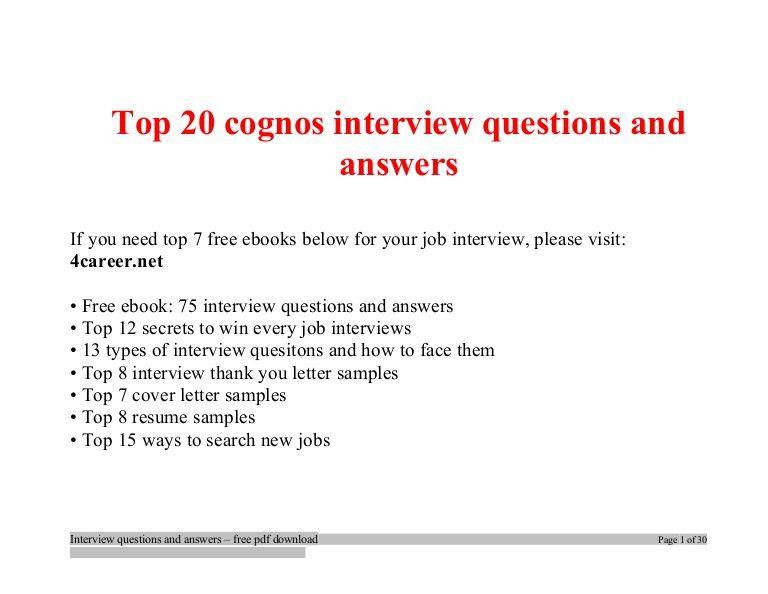 Cognos Resume Sample Sample Cognos Resumes Cognos Report - Cognos report developer cover letter