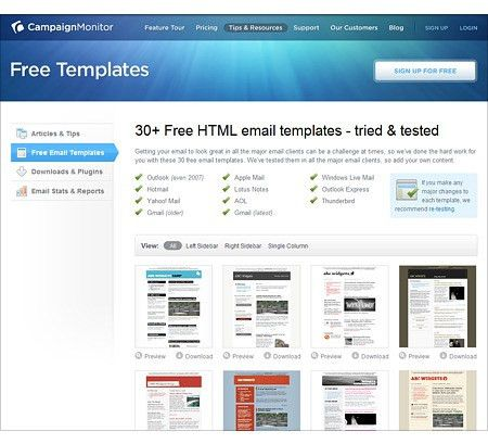 Need some free email newsletter templates? Check out ...