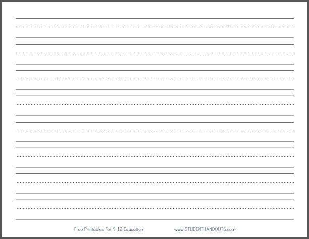 Printable Writing Paper | shareitdownloadpc