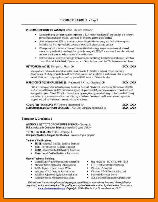 5+ it manager resume example | resume holder