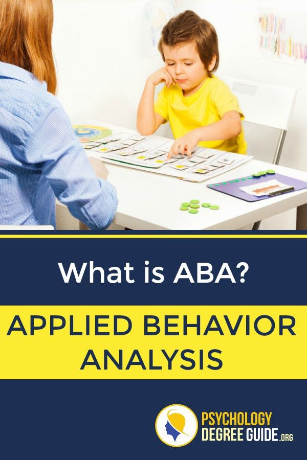 Applied Behavior Analysis Degree | Psychology Degree Guide