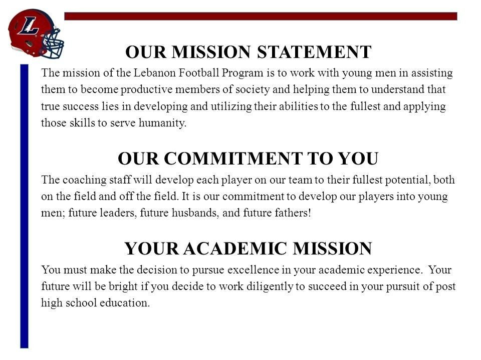Team Mission Statements Examples | Example inside Team Mission ...