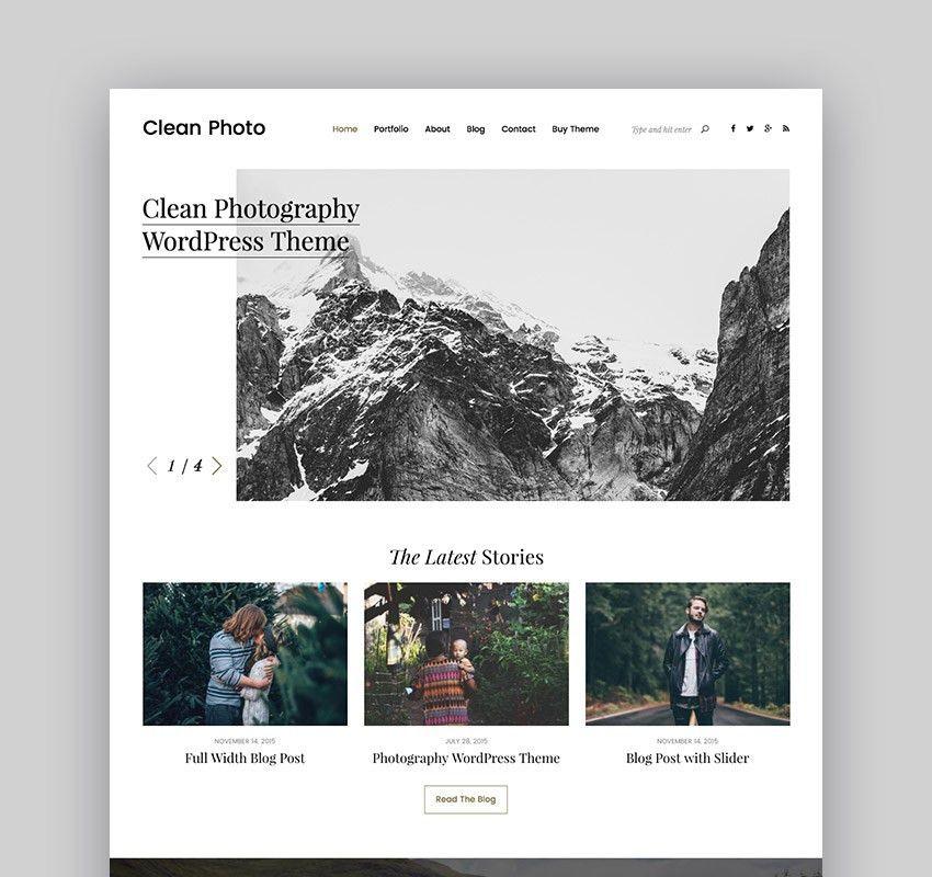 Best Photography Portfolio Themes for WordPress
