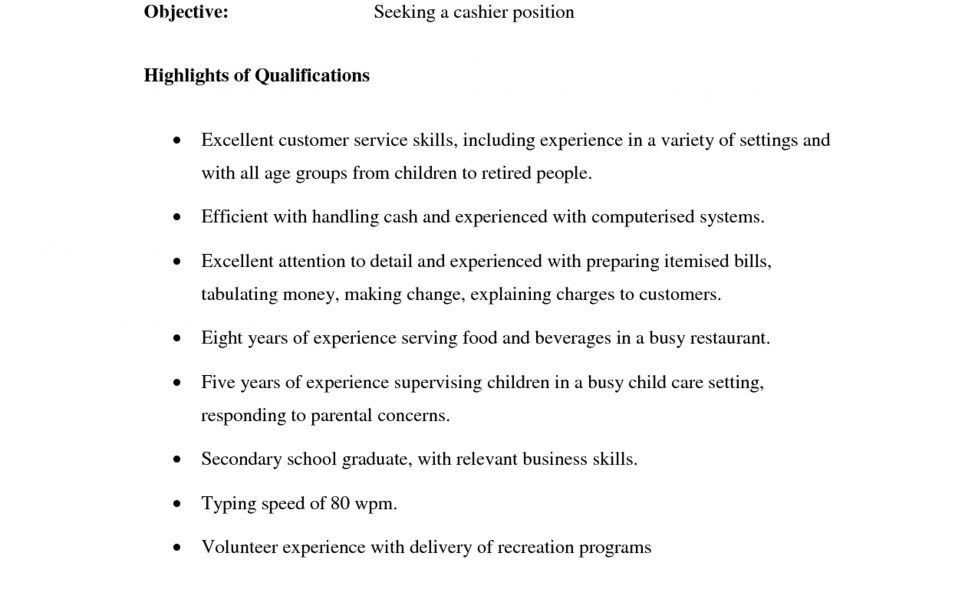 Waitress Objective Resume. download job description sample resume ...