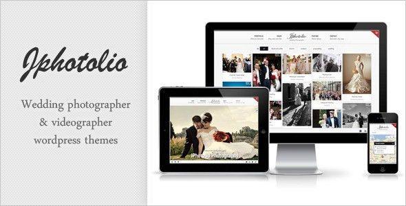 Wedding Photographer Templates from ThemeForest