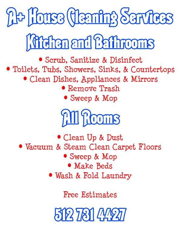 Ideas for house cleaning advertising - House and home design