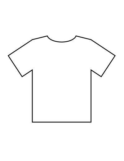 Blank T Shirt Templates   PDF