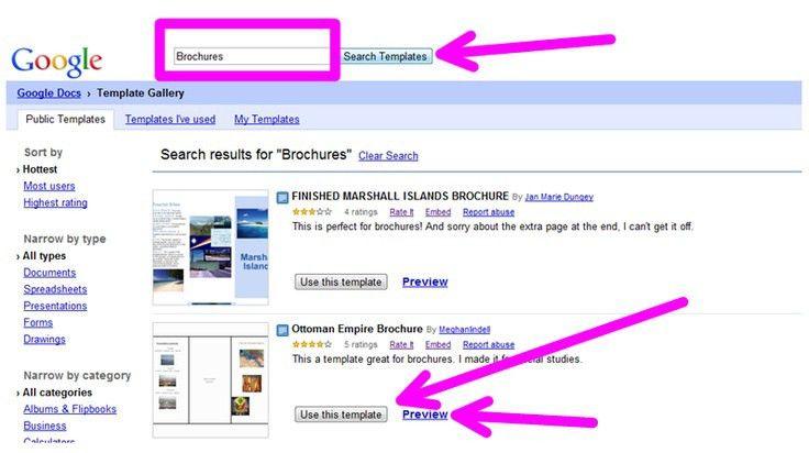 Google Doc Templates - vnzgames