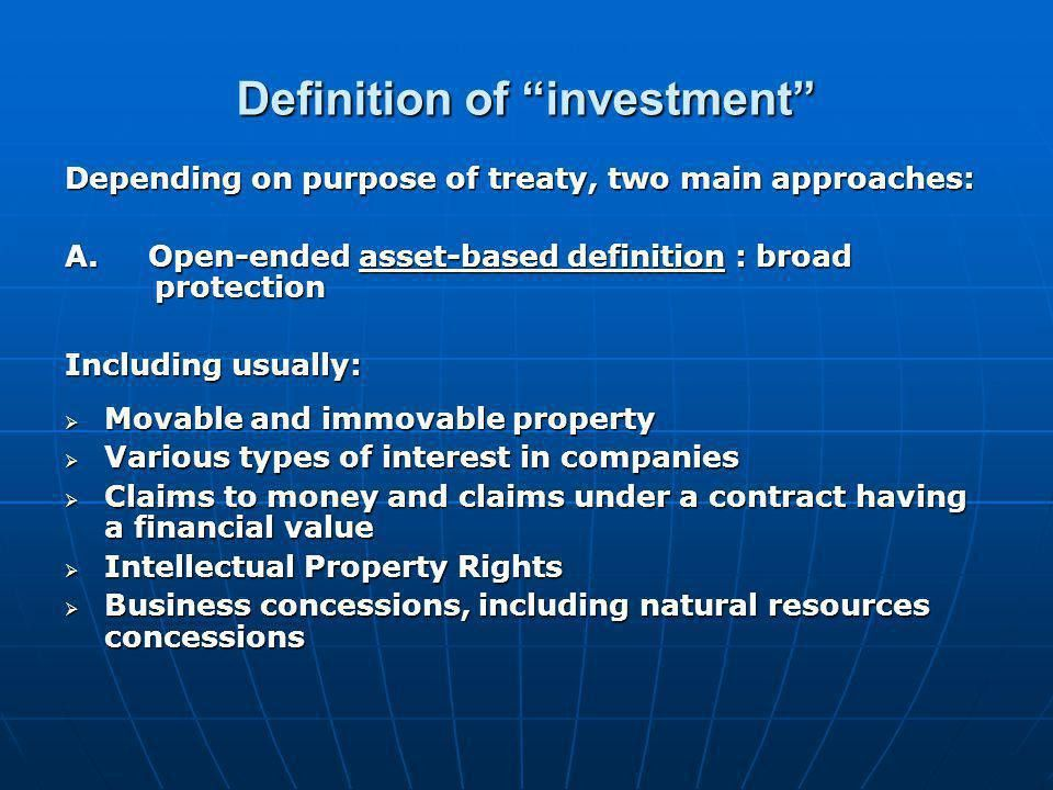 International investment agreements: key issues and features - ppt ...