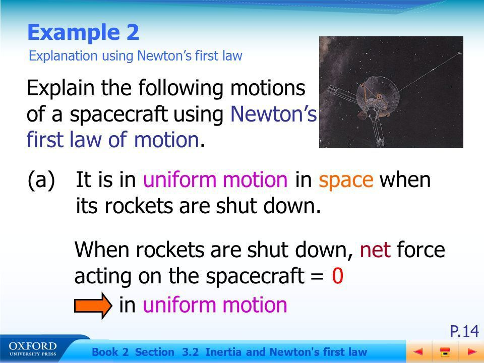 P.1 Book 2 Section 3.2 Inertia and Newton's first law 3.2Inertia ...