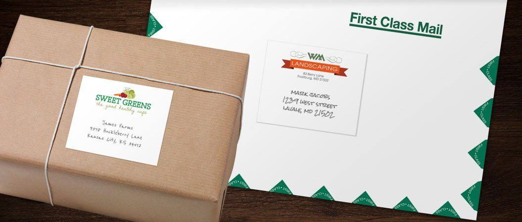 Mailing Labels | Christmas List | Pinterest | Mailing labels ...
