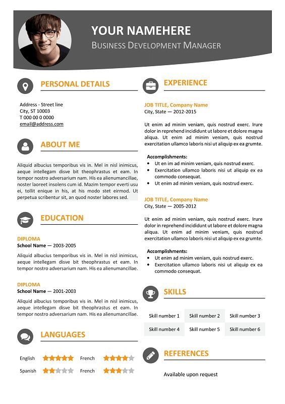 resume format font creddle resume aesthetics font margins and