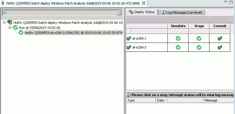 Walkthrough: Basic patch remediation - BMC Server Automation 8.6