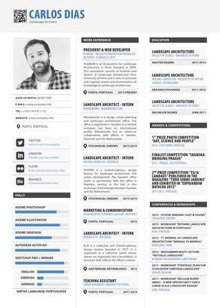 Resume by Carlos Dias - issuu