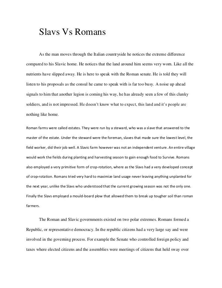 Easy compare and contrast essay examples, treatise writing for ...