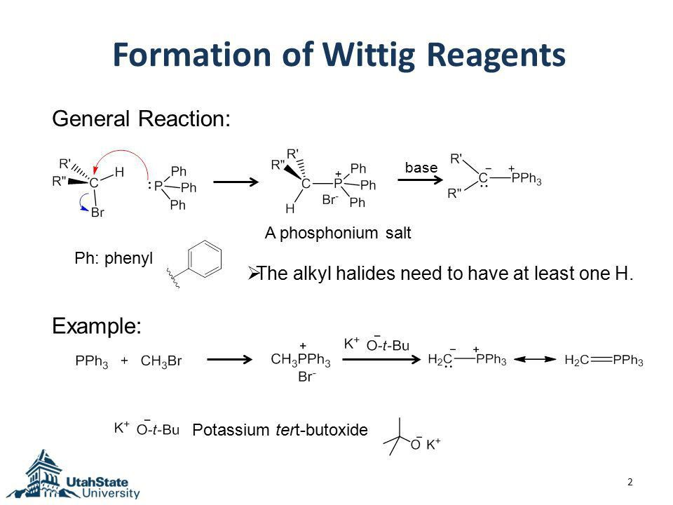 17.5 The Wittig and Related Reactions (formation of alkenes) - ppt ...