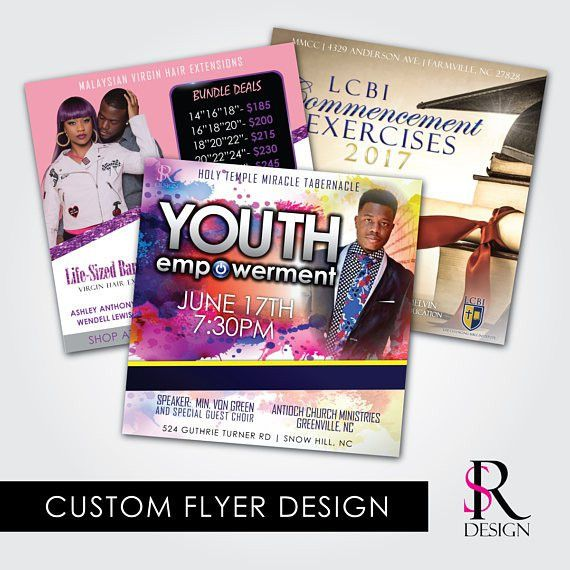 Flyers and Advertisement - SR DESIGN