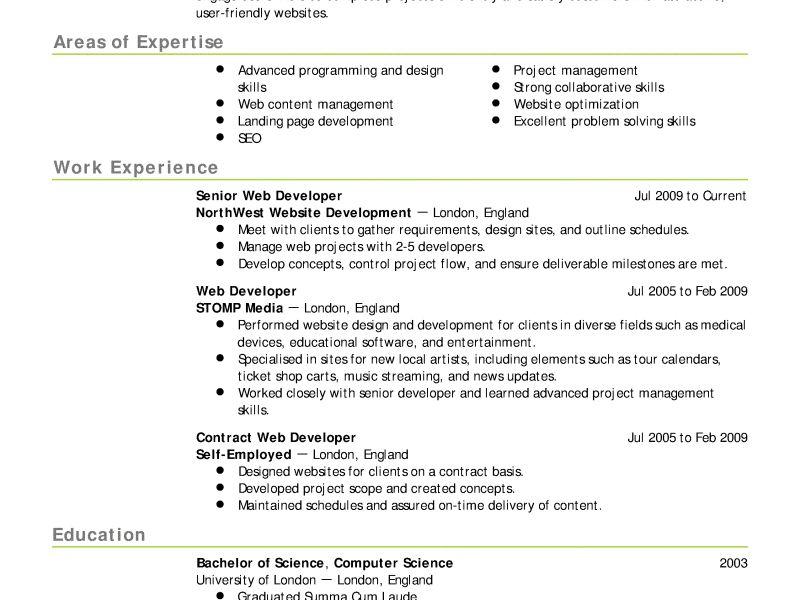 Best resume online service