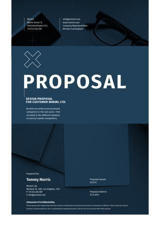 Elite Propsal Template in A4 and US Letter by egotype - issuu