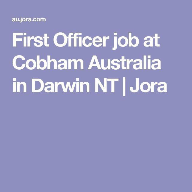 First Officer job at Cobham Australia in Darwin NT | Jora | 2017 ...
